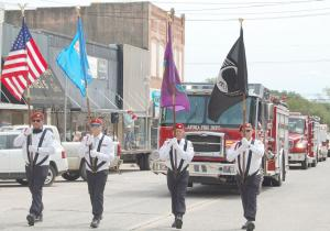 choctaw nation color guard
